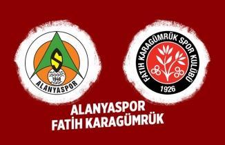 Alanyaspor Fatih Karagümrük Maçı Canlı izle!