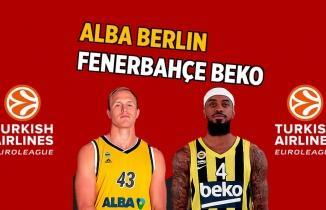 Alba Berlin - Fenerbahçe Beko maçını şifresiz beIN SPORTS HABER canlı izle!