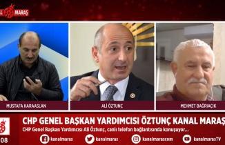 Ali Öztunç'tan Kanal Maraş'ta önemli açıklamalar: Hayrettin Güngör görevden alınacak