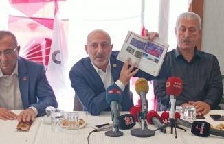 Ali Öztunç basın toplantısı düzenledi