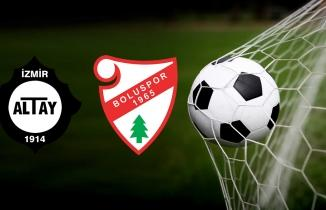 Altay Boluspor maçı (CANLI İZLE)