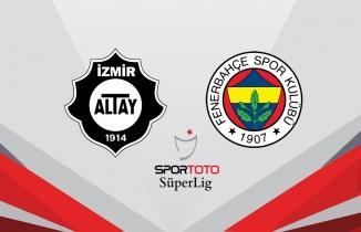 Fenerbahçe, Altay deplasmanından 3 puanla evine döndü!