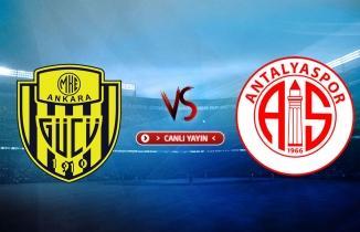 Ankaragücü - Antalyaspor maçı / CANLI İZLE