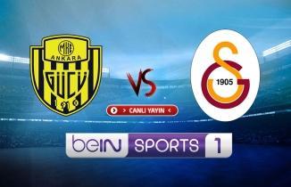 Ankaragücü - Galatasaray maçı (CANLI İZLE)