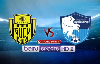 Ankaragücü - Erzurumspor maçı (CANLI İZLE)