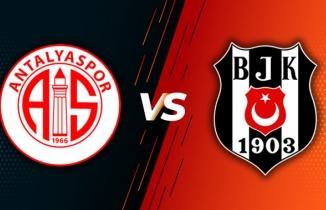 Antalyaspor Beşiktaş Süper Lig 5. hafta maçı özeti ve önemli anları