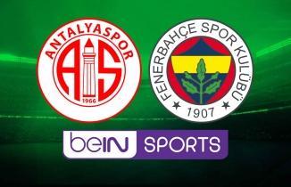Antalyaspor Fenerbahçe maçı (CANLI İZLE)