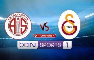 Antalyaspor - Galatasaray maçı / CANLI İZLE