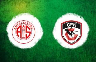 Antalyaspor Gaziantep FK Maçı | Canlı İzle