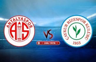 Antalyaspor-Çaykur Rizespor CANLI (beIN Sports 2 izle)