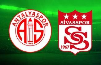 Antalyaspor Sivasspor maçı (CANLI İZLE)