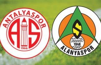 Antalyaspor - Alanyaspor Maçı Canlı İzle!