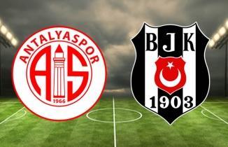 Antalyaspor Beşiktaş maçı Bein Sports 1 HD şifresiz Netspor Justin TV bedava Taraftarium24 SelçukSports İZLE