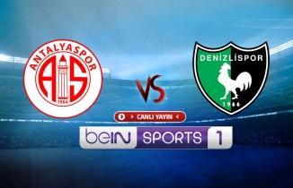 Antalyaspor - Denizlispor maçı (CANLI İZLE)