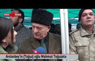 Arslanbey'in oğlu Mahmut Toğuzata 12 Şubat Kurtuluş Bayramı'nın coşkusunu yaşadı