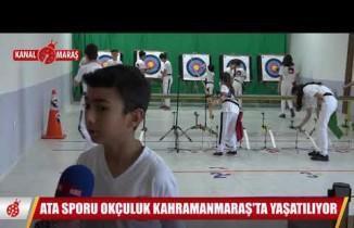 Ata sporu okçuluk Kahramanmaraş'ta yaşatılıyor!