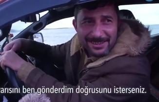 Röportaj veren insan kaçakçısını polis yakaladı