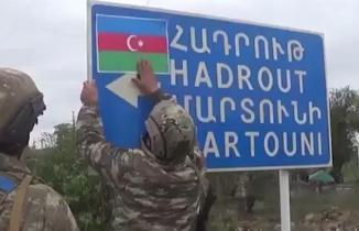 Azerbaycan, Ermenistan işgalinden kurtarılan Şükürbeyli köyünün görüntülerini paylaştı