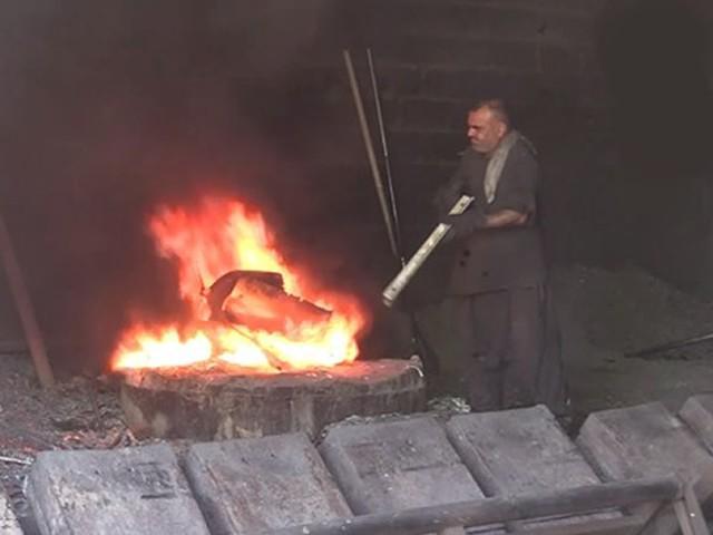 Kahramanmaraş'ta bin derece sıcaklık karşısında oruç