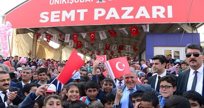 Piri Reis Mahallesi Kapalı Semt Pazarı Açıldı