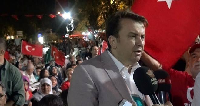 Başkan Erkoç; Bu teröristlerin panzehiri Millet, demokrasidir