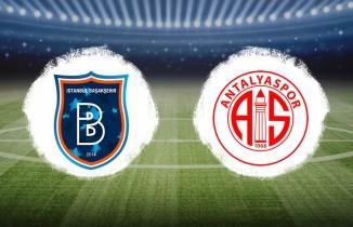 Başakşehir - Antalyaspor (CANLI İZLE)