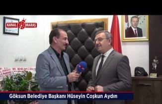 Başkan Aydın'dan Kanal Maraş'a yerel seçim değerlendirmesi