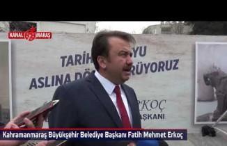 Başkan Erkoç Eski Türk Telekom binası yıkım çalışmalarını yerinde inceledi