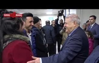 Başkan Mahçiçek'ten hastane ziyareti