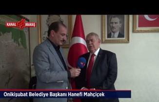 Başkan Mahçiçek'ten Kanal Maraş'a yerel seçim değerlendirmesi