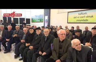 Başkan Mahçiçek ve Büyükşehir Başkan adayı Güngör'den Kafkas Kültür Derneği ziyareti
