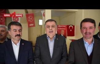 Başkan Okunmuş: ''Büyük bir oy farkıyla Cumhur İttifakın damgasını Türkoğlu'na vuracağız''