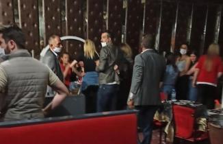 Ankara'da 'Vur patlasın çal oynasın' eğlencesi! Polis bastı