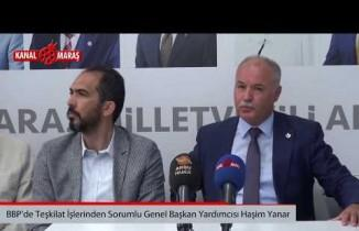 BBP'li Haşim Yanar'dan Özdemir'e ziyaret