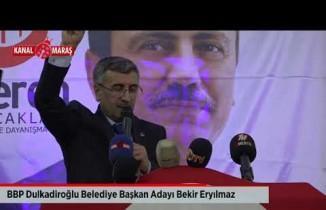 BBP'nin Kahramanmaraş belediye başkan adayları tanıtıldı!