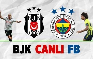 BJK - FB HD Canlı Maç İzle: Beşiktaş Fenerbahçe