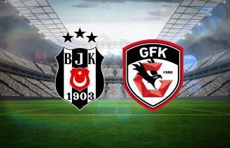Beşiktaş Gaziantep FK maçı (CANLI İZLE)