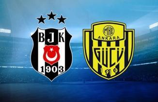 Beşiktaş - MKE Ankaragücü maçı (CANLI İZLE)