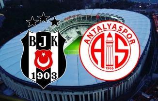 CANLI İZLE: Beşiktaş - Antalyaspor Maçı
