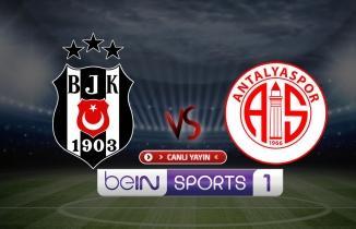 Beşiktaş - Antalyaspor maçı (CANLI İZLE)
