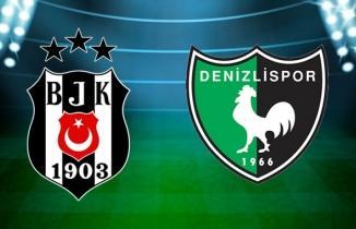 BJK Denizli izle şifresiz canlı Beşiktaş Denizlispor canlı maç yayını