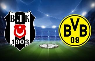 Beşiktaş 1 - 2 Borussia Dortmund maçı özeti