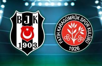 Beşiktaş, kendi evinde 3 puanla ayrıldı!