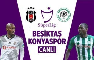 Beşiktaş Konyaspor (CANLI İZLE)