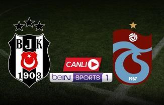 Beşiktaş - Trabzonspor beIN Sports 1 canlı izle (BJK - TS şifresiz izle)
