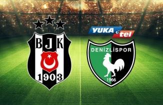 Beşiktaş - Yakatel Denizlispor maçı özeti