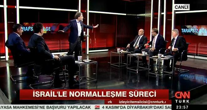 Canlı yayında CHP ve AK Parti kavgası