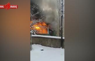 Kahramanmaraş'ta cami yanarak kullanılamaz hale geldi