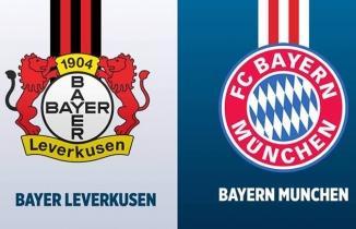 Bayer Leverkusen Bayern Münih (CANLI İZLE)