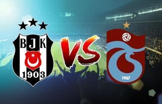 CANLI YAYIN: Beşiktaş - Trabzonspor maçı canlı izle! Bein Sports canlı yayın...